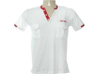 Camisa Masculina Coca-cola Clothing 253200391 Off White - Tamanho Médio