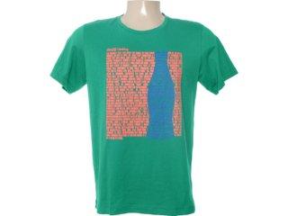 Camiseta Masculina Coca-cola Clothing 353202935 Verde - Tamanho Médio