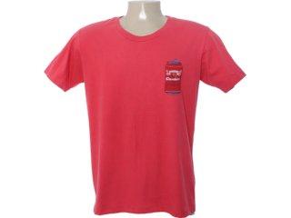 Camiseta Masculina Cavalera Clothing 01.01.6577 Vermelho - Tamanho Médio