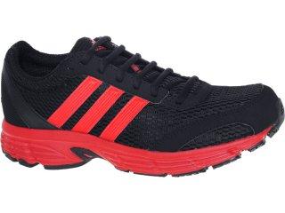 Tênis Masculino Adidas G61188 Vanquish Preto/vermelho - Tamanho Médio