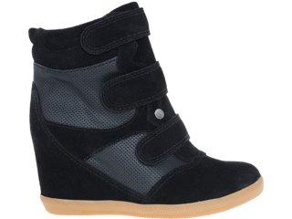 Sneaker Feminino Quiz 69901 Preto - Tamanho Médio