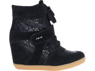 Sneaker Feminino Quiz 69902 Preto - Tamanho Médio