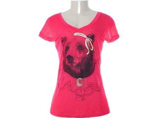 Camiseta Feminina Dopping 015252005 Pink - Tamanho Médio