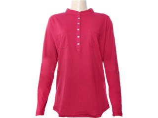 Camisa Feminina Hering 03nn Rxu07s Vinho - Tamanho Médio