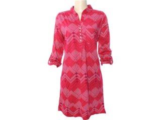 Vestido Feminino Hering 09hr 1b00s Bordo - Tamanho Médio
