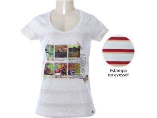 Blusa Feminina Hering 4ck3 1c10s Bege - Tamanho Médio