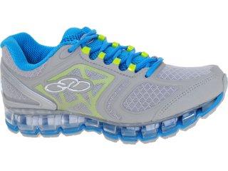 Tênis Feminino Olympikus Maxpower 861 Cinza/azul - Tamanho Médio