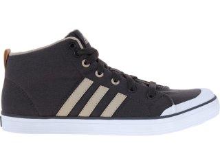 Tênis Masculino Adidas V21093 Brasic 4 Mid Cimento/khaki - Tamanho Médio