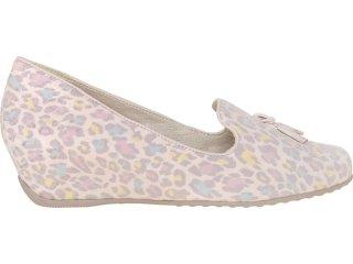 Sapato Feminino Comfortflex 73405 Onca Nude - Tamanho Médio