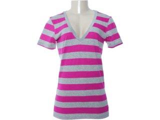 Camiseta Feminina Nike 481039-605 Cinza/violeta - Tamanho Médio