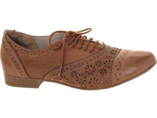 Sapato Feminino Bela Flor 6001 Tabaco - Tamanho Médio