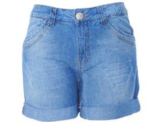 Bermuda Feminina Hering H6eu Ibl4a Jeans - Tamanho Médio