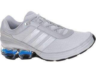 Tênis Masculino Adidas V21103 Devotion pb 3m Cinza/azul - Tamanho Médio