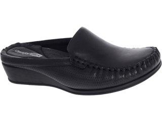 Mule Feminino Comfortflex 93401 Preto - Tamanho Médio