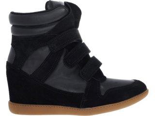 Sneaker Feminino Hetane 1201202 Preto - Tamanho Médio