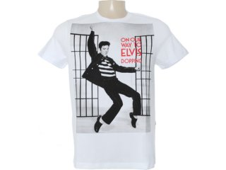 Camiseta Masculina Dopping 015262570 Branco - Tamanho Médio