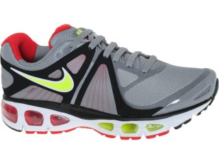 Tênis Masculino Nike 453976-076 Air Max Tailwind Chumbo/limão - Tamanho Médio