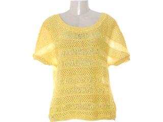 Blusa Feminina Dopping 015602505 Amarelo - Tamanho Médio