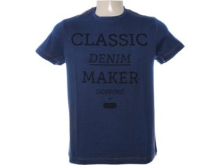 Camiseta Masculina Dopping 015262562 Marinho - Tamanho Médio