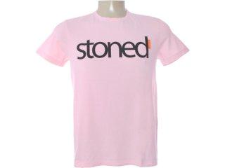 Camiseta Masculina Dopping 015262556 Rosa Claro - Tamanho Médio