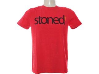 Camiseta Masculina Dopping 015262556 Vermelho - Tamanho Médio