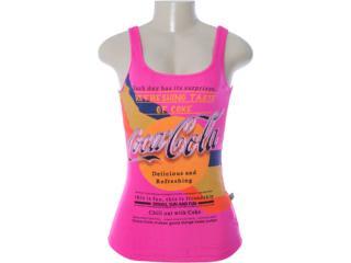 Regata Feminina Coca-cola Clothing 383200405 Pink - Tamanho Médio