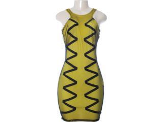 Vestido Feminino Coca-cola Clothing 443201130 Amarelo - Tamanho Médio