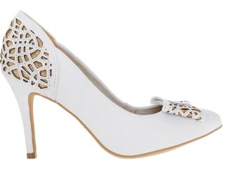 207bd8436 Sapato Dakota 4544 Branco Comprar feminino sola pré...