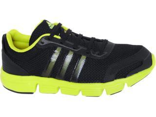 Tênis Masculino Adidas G60834 Breeze m Preto/amarelo - Tamanho Médio