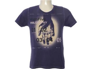 Camiseta Masculina Dzarm 6bv6 Xke10 Roxo - Tamanho Médio