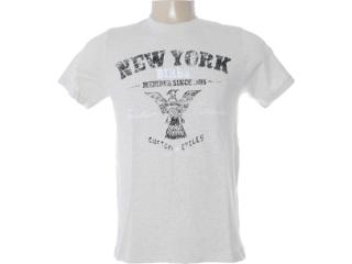 Camiseta Masculina Dzarm 6bvk Md210 Bege - Tamanho Médio