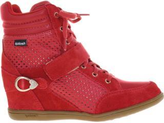 Sneaker Feminino Kolosh C0092 Vermelho - Tamanho Médio