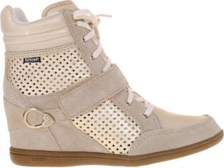 Sneaker Feminino Kolosh C0092 Areia/dourado - Tamanho Médio
