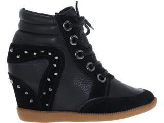 Sneaker Feminino Bottero 175404 Preto - Tamanho Médio