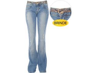 Calça Feminina Dopping 012212525 Jeans - Tamanho Médio