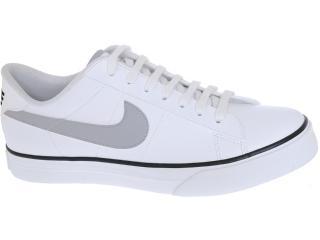 Tênis Masculino Nike 387303-114 Sweet Classic Low Branco/cinza - Tamanho Médio