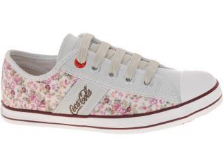 Tênis Feminino Coca-cola Shoes Cc0145 Floral - Tamanho Médio