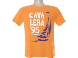 Camiseta Masculina Cavalera Clothing 01.01.6225 Laranja - Tamanho Médio