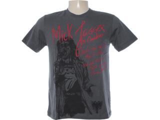 Camiseta Masculina Cavalera Clothing 01.01.5845 Chumbo - Tamanho Médio