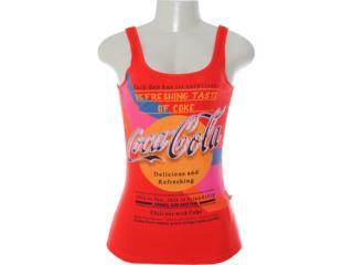 Regata Feminina Coca-cola Clothing 383200405 Vermelho - Tamanho Médio