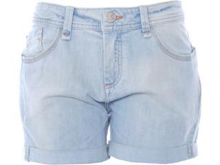Short Feminino Dopping 013512505 Jeans Claro - Tamanho Médio