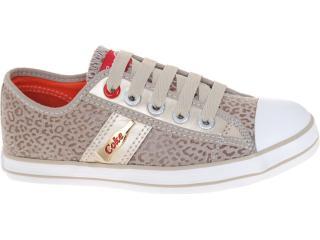 Tênis Feminino Coca-cola Shoes Cc0205 Caqui - Tamanho Médio