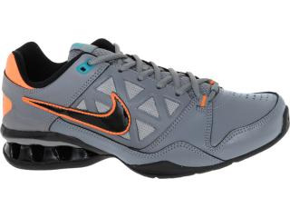 Tênis Masculino Nike 502828-005 Reax 6 tr br Emb Chumbo/laranja - Tamanho Médio