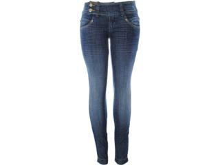 Calça Feminina Dopping 012112521 Jeans - Tamanho Médio