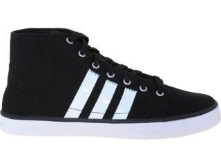 Tênis Masculino Adidas G53395 Vlneo bb Mid Preto/branco - Tamanho Médio