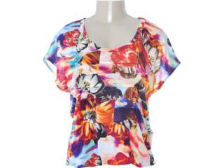 Blusa Feminina Coca-cola Clothing 363202502 Estampada - Tamanho Médio