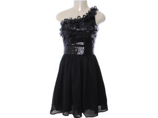 Vestido Feminino Dopping 018002543 Preto - Tamanho Médio