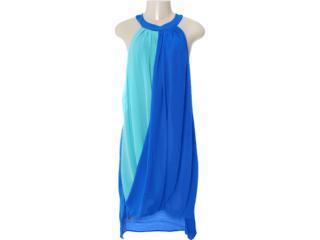 Vestido Feminino Dopping 018002531 Azul - Tamanho Médio
