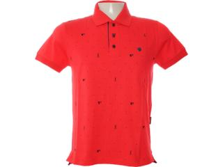 Camisa Masculina Dopping 015462518 Vermelho - Tamanho Médio