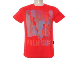 Camiseta Masculina Dopping 015262502 Vermelho - Tamanho Médio